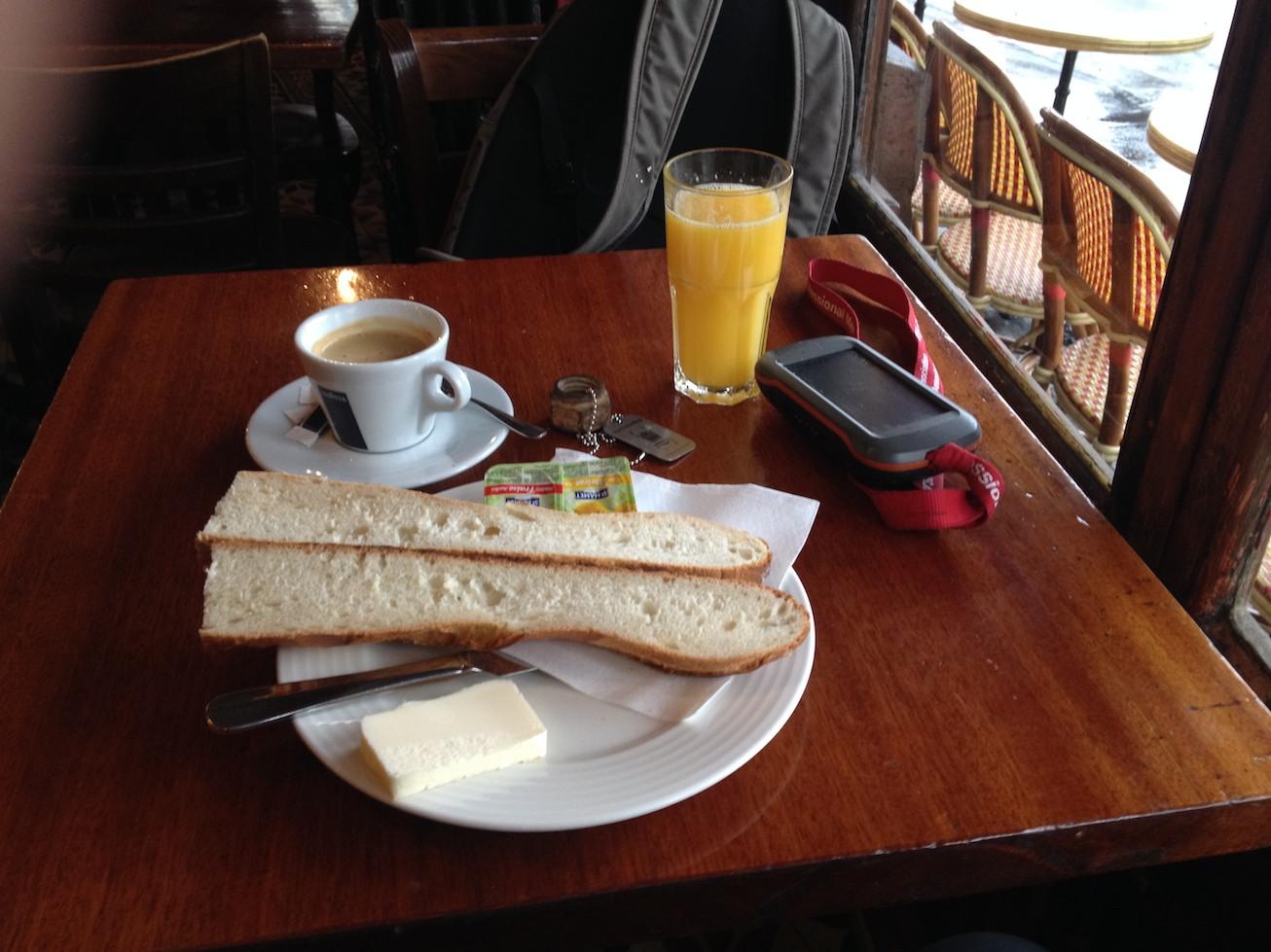 Geolovski zajtrk