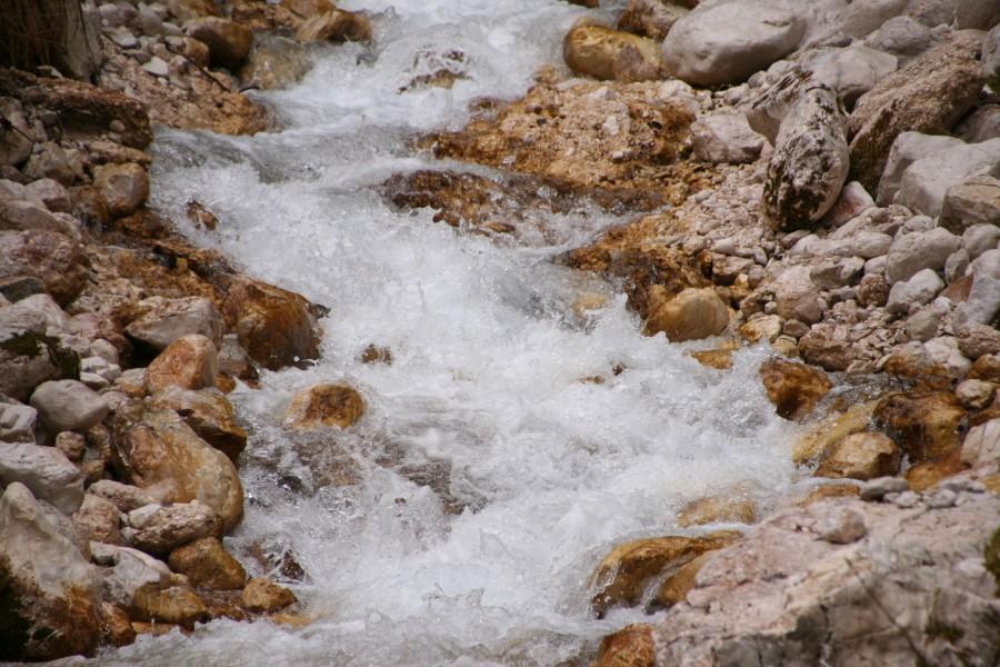 Peričnik pod Zgornjim slapom