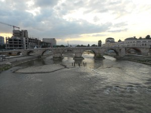 stari most čez Vardar
