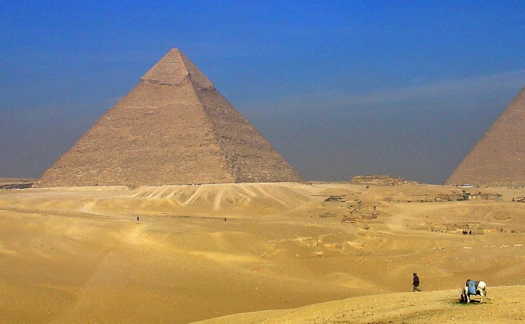 Kafre in delček Kufu piramide