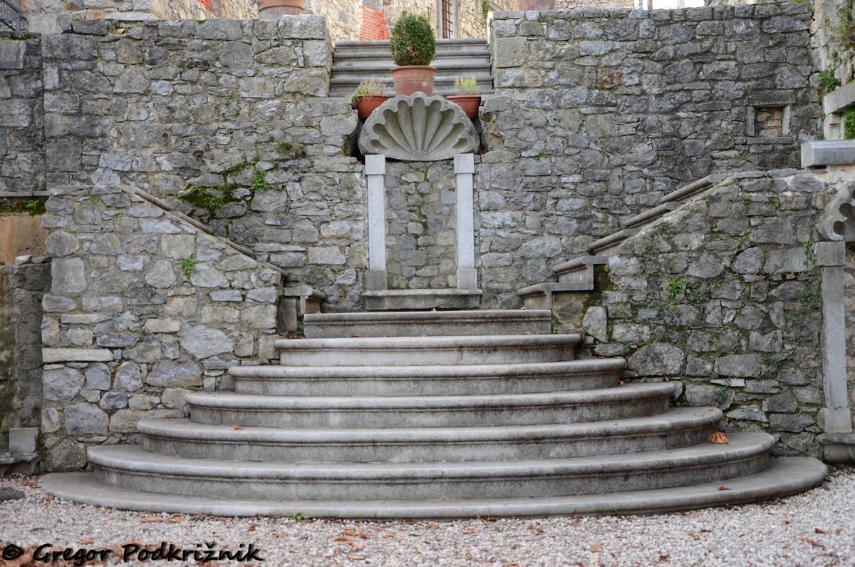 Stopnišče, Štanjel