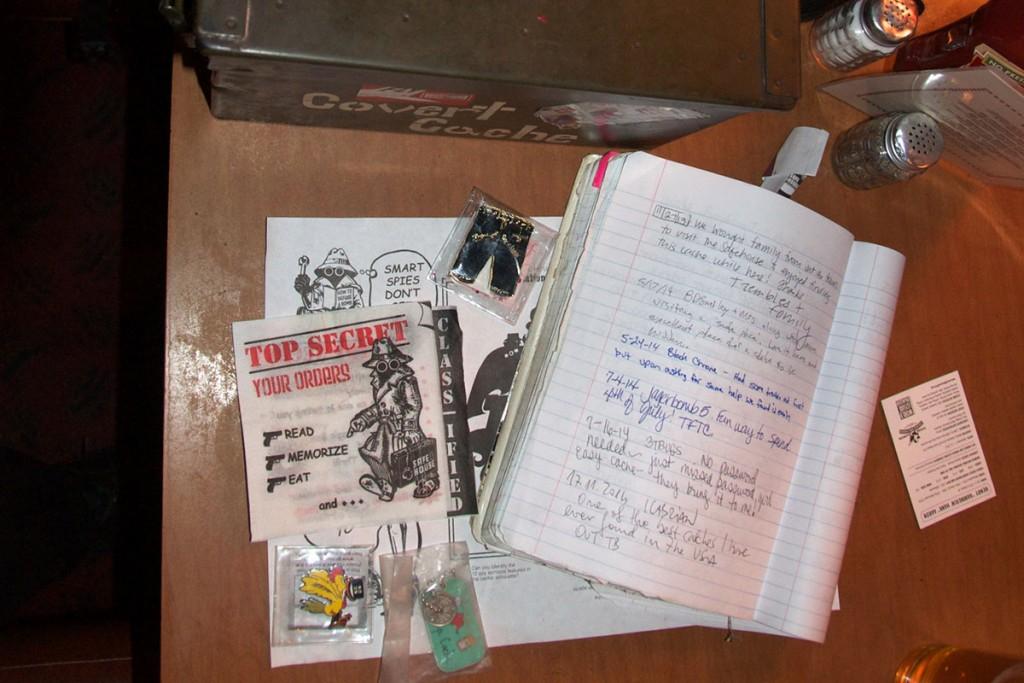 Zaklad Covert cache so obiskali tudi sledljivi sopotniki