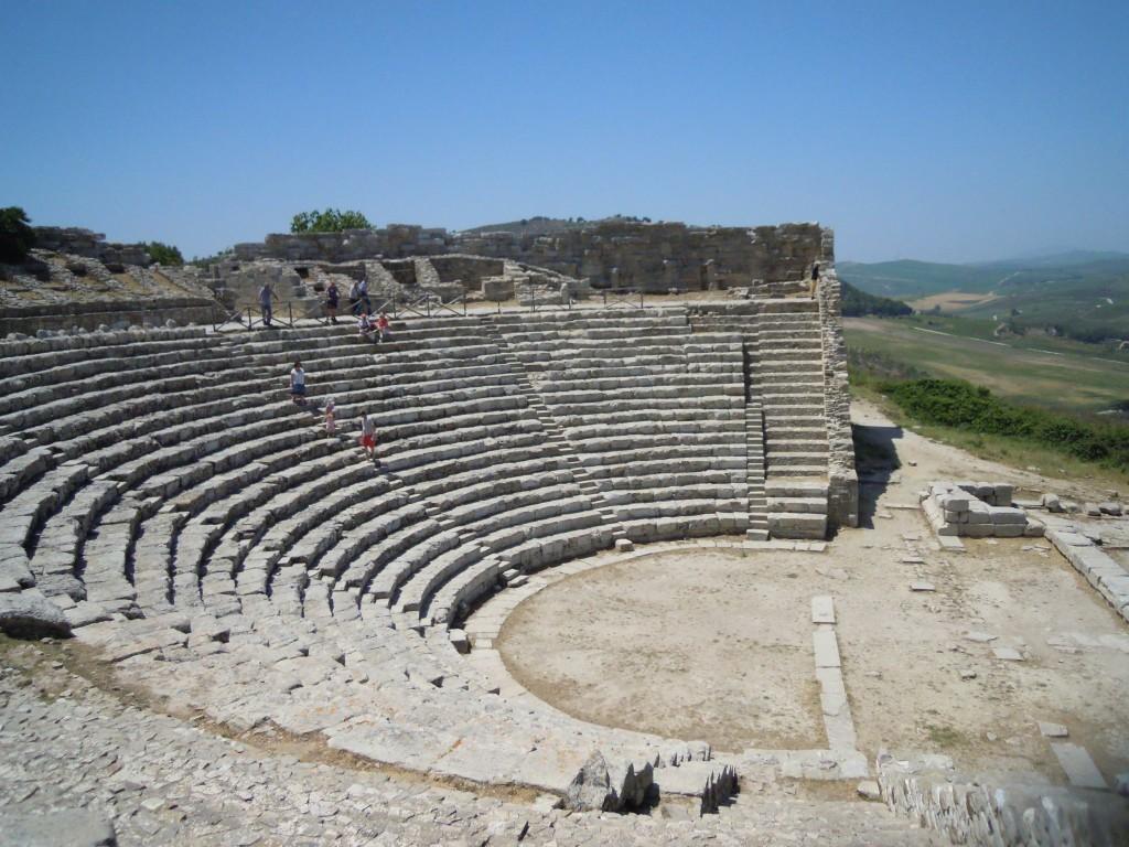 1. Grško gledališče v Segesti