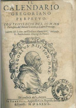 Gregorianska reforma leta 1582, ki je še danes v veljavi.
