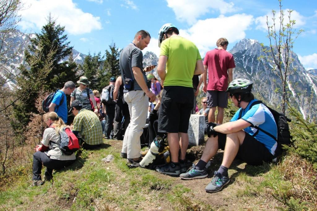 6 Gne¦Źa na razgledi+í¦Źu ÔÇô Gedr+Ąnge auf dem Aussichtsberg