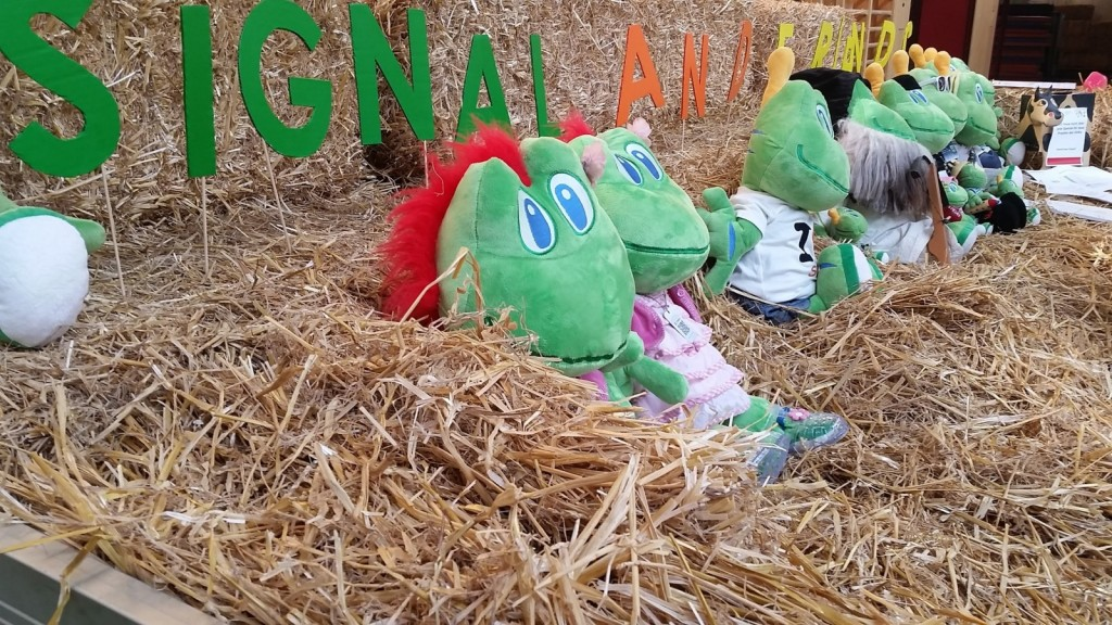Signal the frog družina sledljivčkov