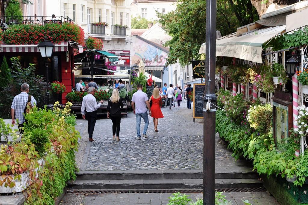 Skadarlija, (nekoč) beograjska boemska ulica.