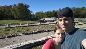 Pri rimskih ruševinah