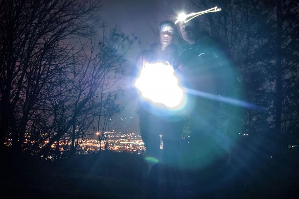 Nočna geolovska akcija nad Mariborom (foto rlubej)