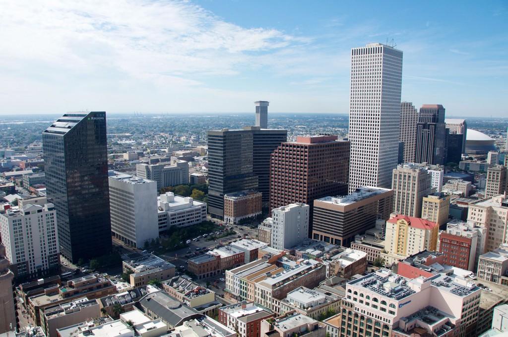 Downtown New Orleans, kot ga lahko vidijo le izbranci.