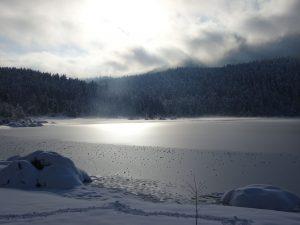 Zamrznjeno Cerkniško jezero