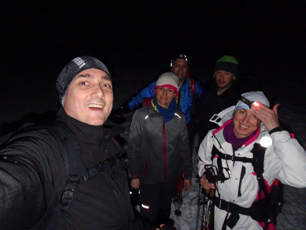 Snežni team DamoSI in NiSEM