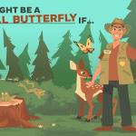 Kdo bo Družabni metuljček?