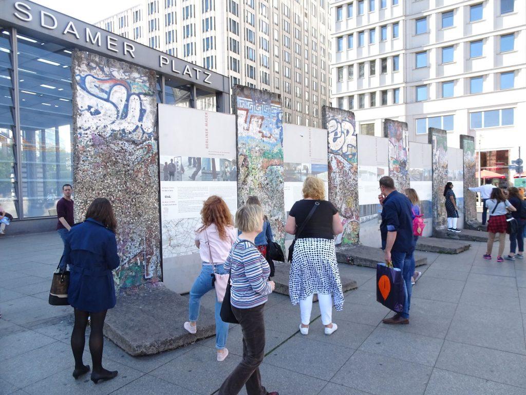 Zadnji ostanki berlinskega zidu