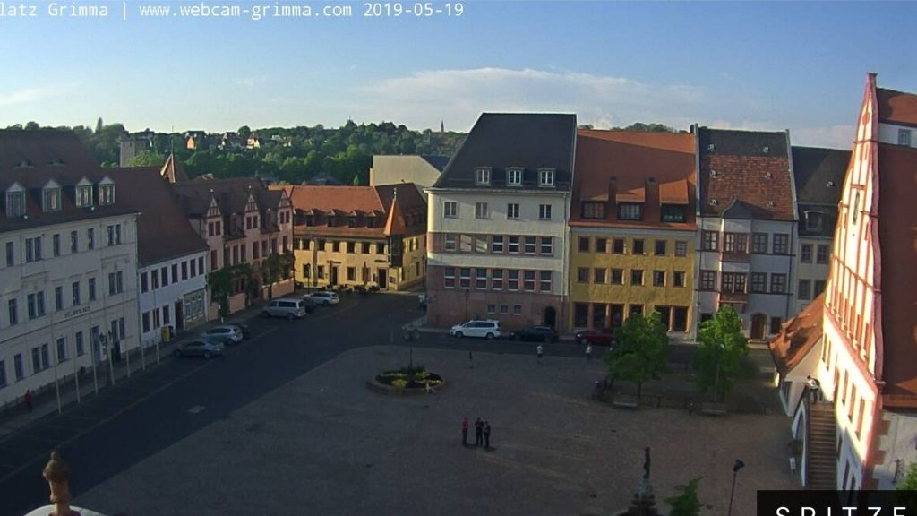 Grimma Marktplatz